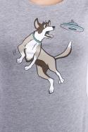 náhled - Létající talíř dámské tričko