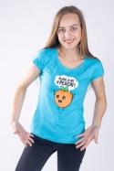 náhled - V peachi dámské tričko