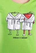 náhled - Jablka v županu dámské tričko