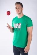 náhled - Jablka v županu pánské tričko