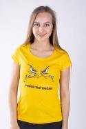 náhled - Zlé tričko dámské tričko