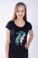 náhled - Vylitý dámské tričko