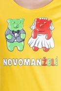 náhled - Novomanželé z želé dámské tričko