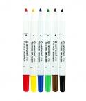 náhled - Centropen fixy na textil – 6 barev