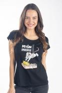 náhled - Myšn Impossible dámské tričko