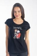 náhled - Dad metal dámské tričko