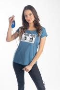 náhled - Myš na plastice dámské tričko