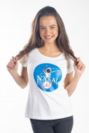 náhled - Nasaj bílé dámské tričko
