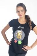 náhled - Pívo volá dámské tričko