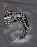 náhled - Snake Train dámské tričko