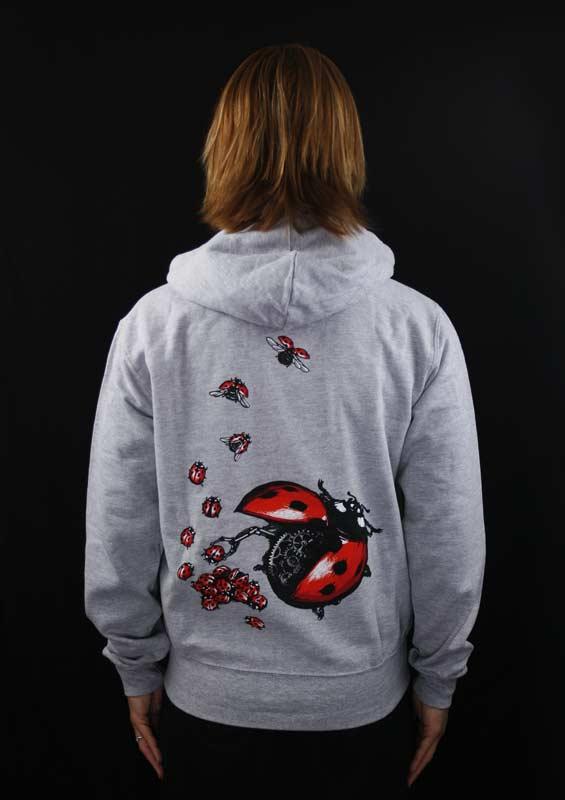 1f6fc91be3a Ladybird šedá dámská mikina