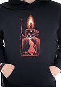náhled - Zapalovač pánská mikina