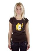 náhled - Zlatá rybka dámské tričko