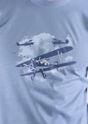 náhled - Rytíři nebes pánské tričko - starý střih