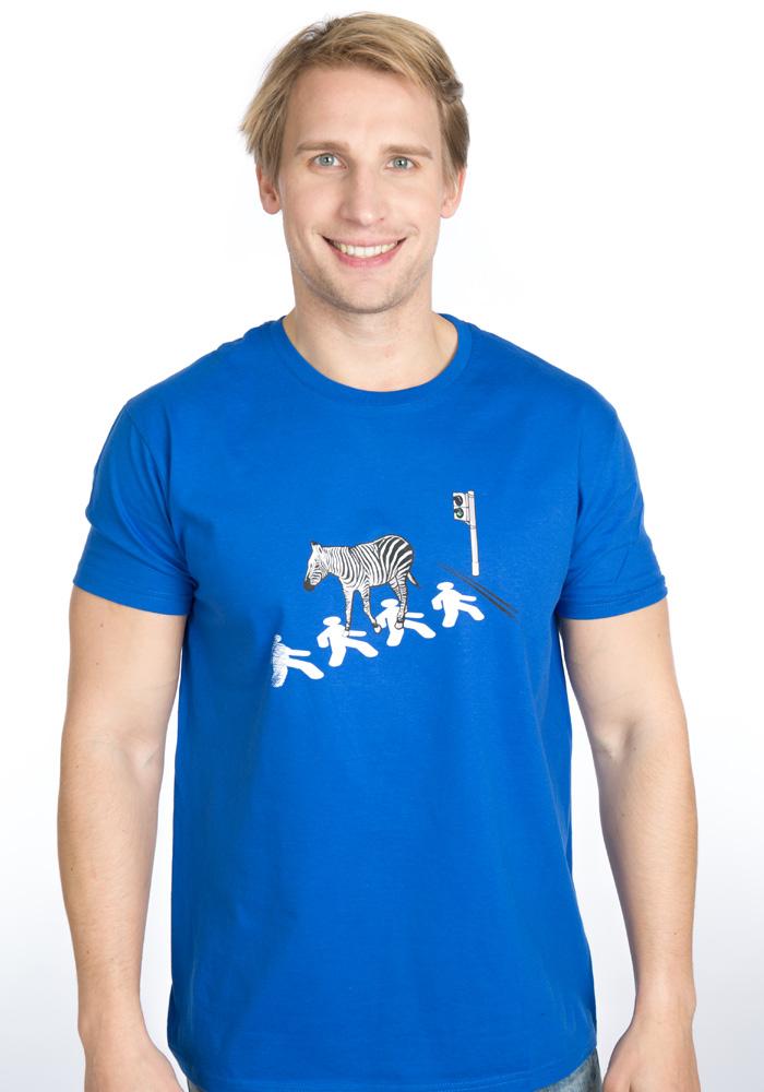 e4a9330fbc21 Zebra pánské tričko