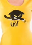 náhled - Čičina žluté dámské tričko