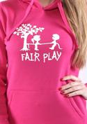 náhled - Fair play fuchsiová dámská mikina