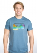 náhled - Periodická tabulka modré pánské tričko