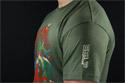 náhled - Mario's Trip zelené pánské tričko