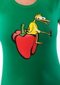 náhled - Kuře na paprice dámské tričko