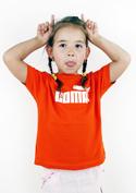 náhled - Coma oranžové dětské tričko