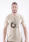 náhled - Na čem ujíždíš pánské tričko