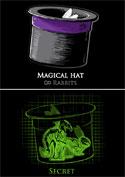 náhled - Magický klobouk dámská mikina