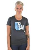 náhled - Lednice šedé dámské tričko