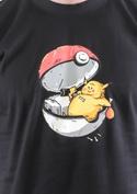 náhled - Konec pokémona černé pánské tričko