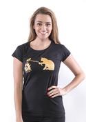náhled - Kočka a myš dámské tričko