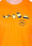 náhled - Testováno oranžové pánské tričko