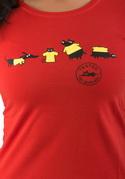 náhled - Testováno červené dámské tričko