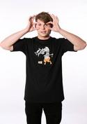 náhled - Změna černé pánské tričko