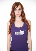 náhled - Coma fialové dámské tílko