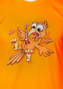 náhled - Žížalovetřelec oranžové pánské tričko