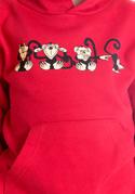 náhled - Opice dětská mikina