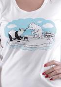 náhled - Lední medvědi dámské tričko