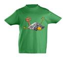 náhled - Sova spálená dětské tričko