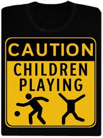 Detail návrhu Children Playing