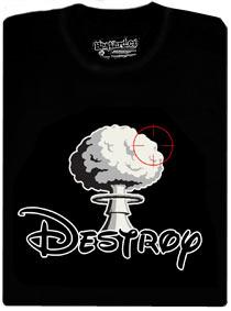 Detail návrhu Destroy