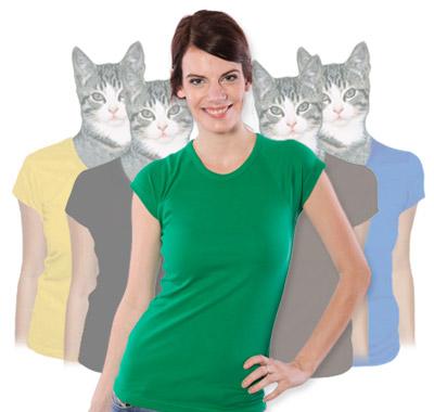Dámská trička raglánová