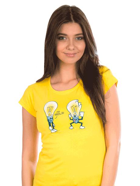Dámské tričko Prdlá