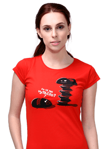 Dámské tričko Anděl vs. ďábel