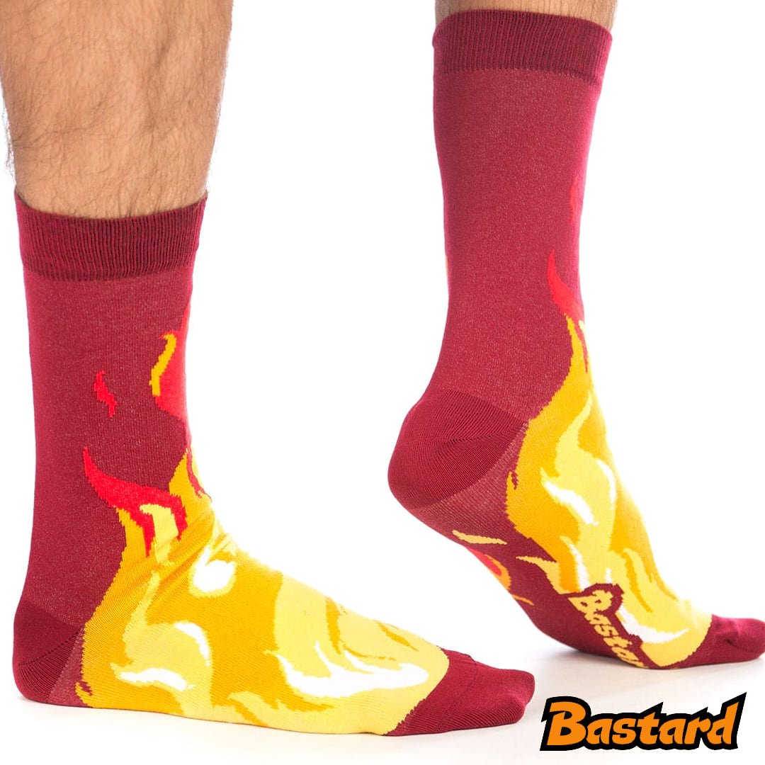 Nohy v plamenech
