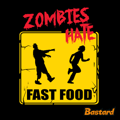 Zombies hate