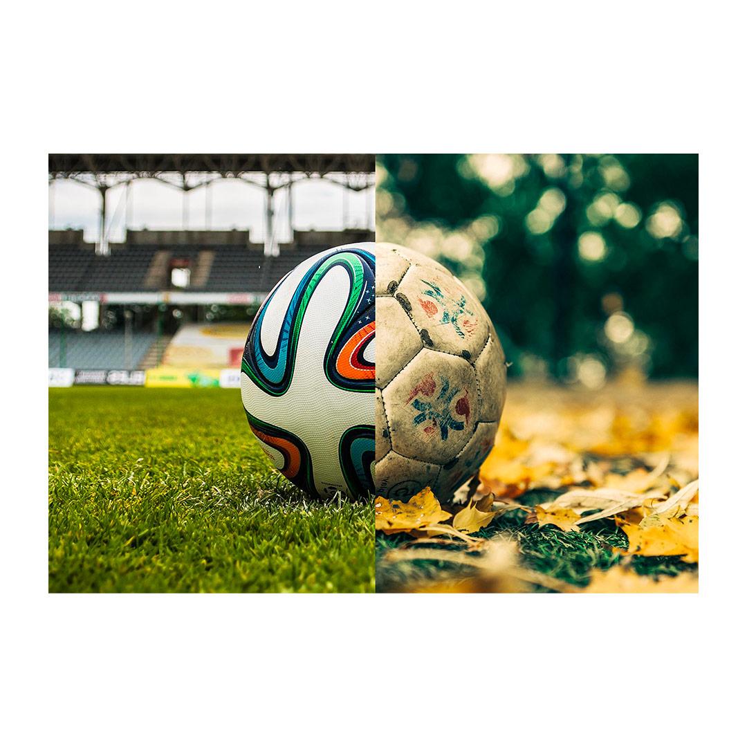 Fotbalový kontrast