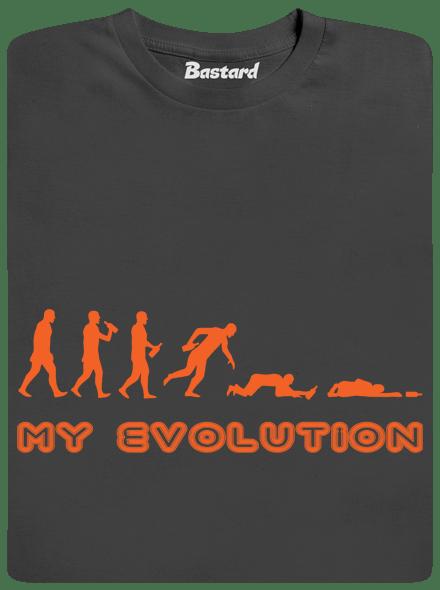 Bastard My evolution pánské tričko
