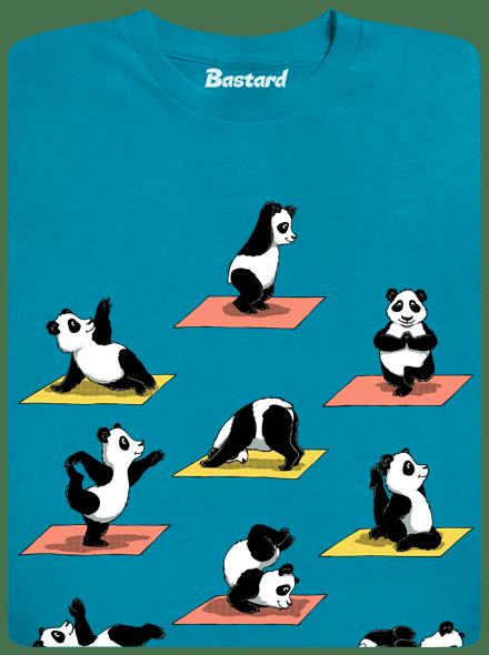 Bastard Pandí jóga pánské tričko