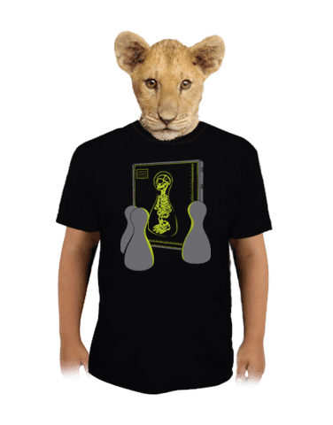 Rentgen dětské tričko