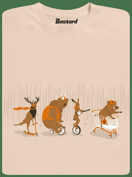 Bastard Mejdan v lese pánské tričko